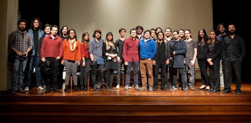 banner taller de Santiago de Chile